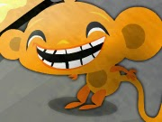 Chú khỉ vui vẻ, chơi game hay tại GameVui.biz