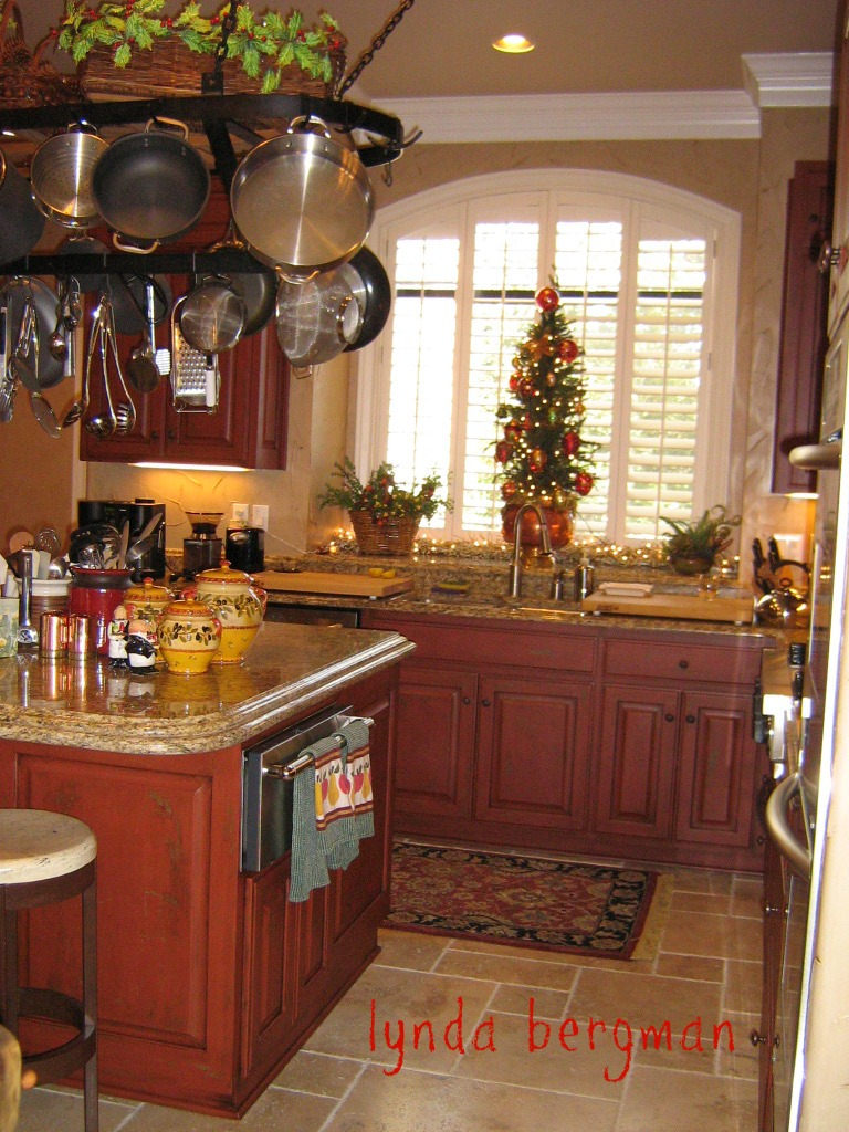 Red Kitchen Paint Lynda Bergman Decorative Artisan Kitchen Cabinets Hand Painted