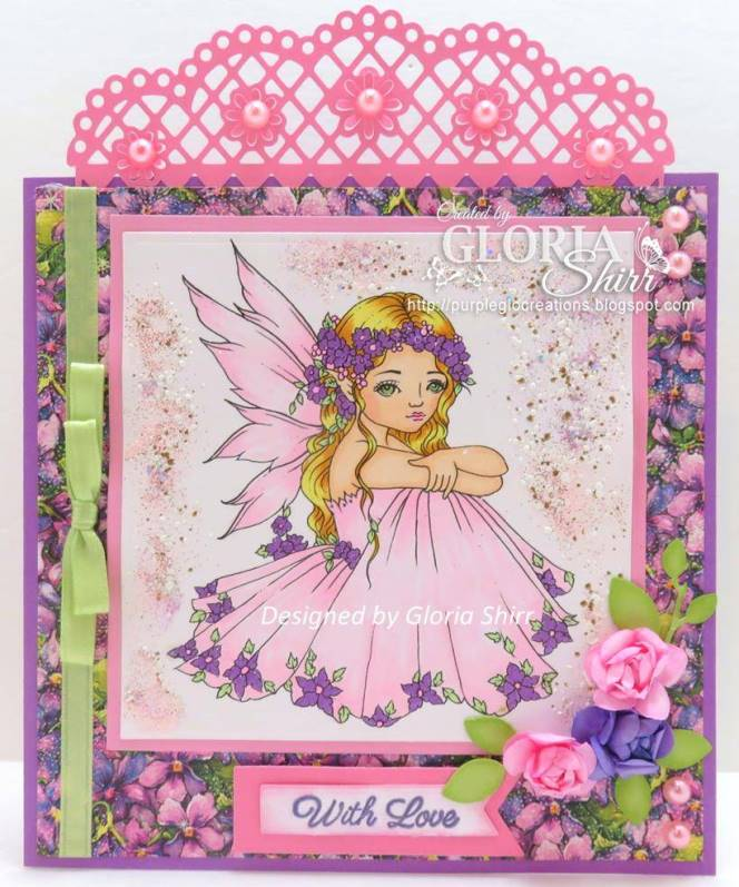 Featured Card for Crafting With Dragonflies Challenge Blog