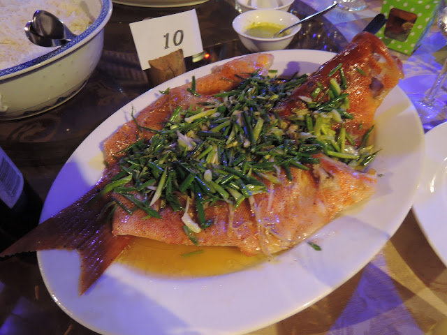 steamed fish, seafood, domaine anna, chinese cuisine
