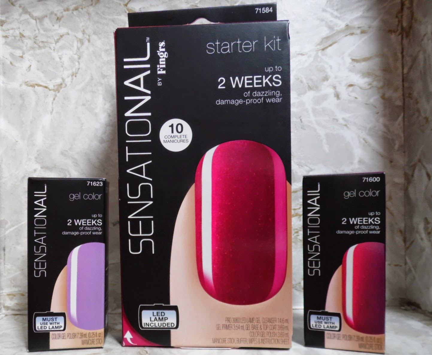 Review Sensationail Starter Kit Rasperry Wine