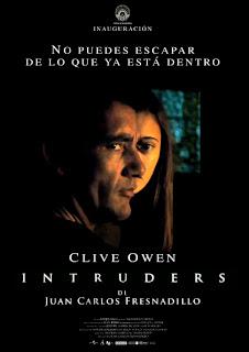Cartel de Intruders, de Juan Carlos Fresnadillo