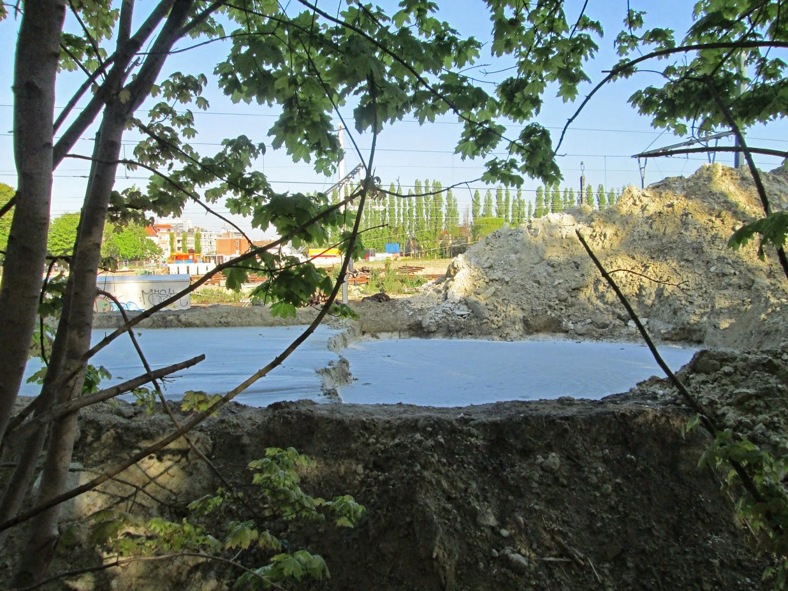 Cement lake