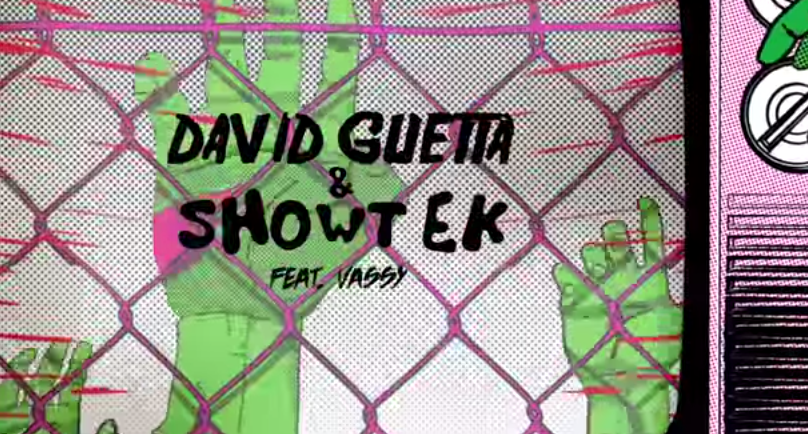 video cancion bad david guetta