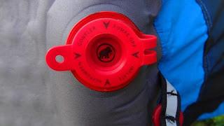 Mammut Inflatable Mat - Air Inlet