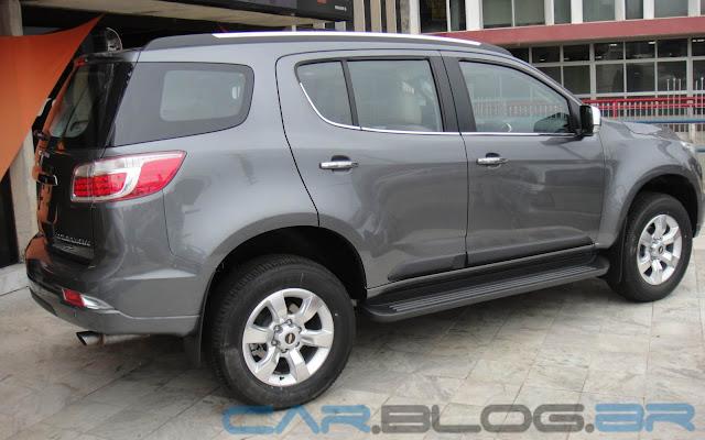 Chevrolet Trailblazer Na Cor Cinza Artemis Car Blog Br