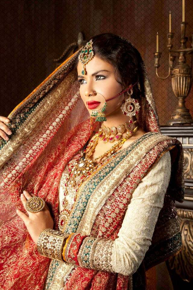 Pakistani Bridal Dresses | Kamiar Rokni Bridal Dress Collection 2013 ...