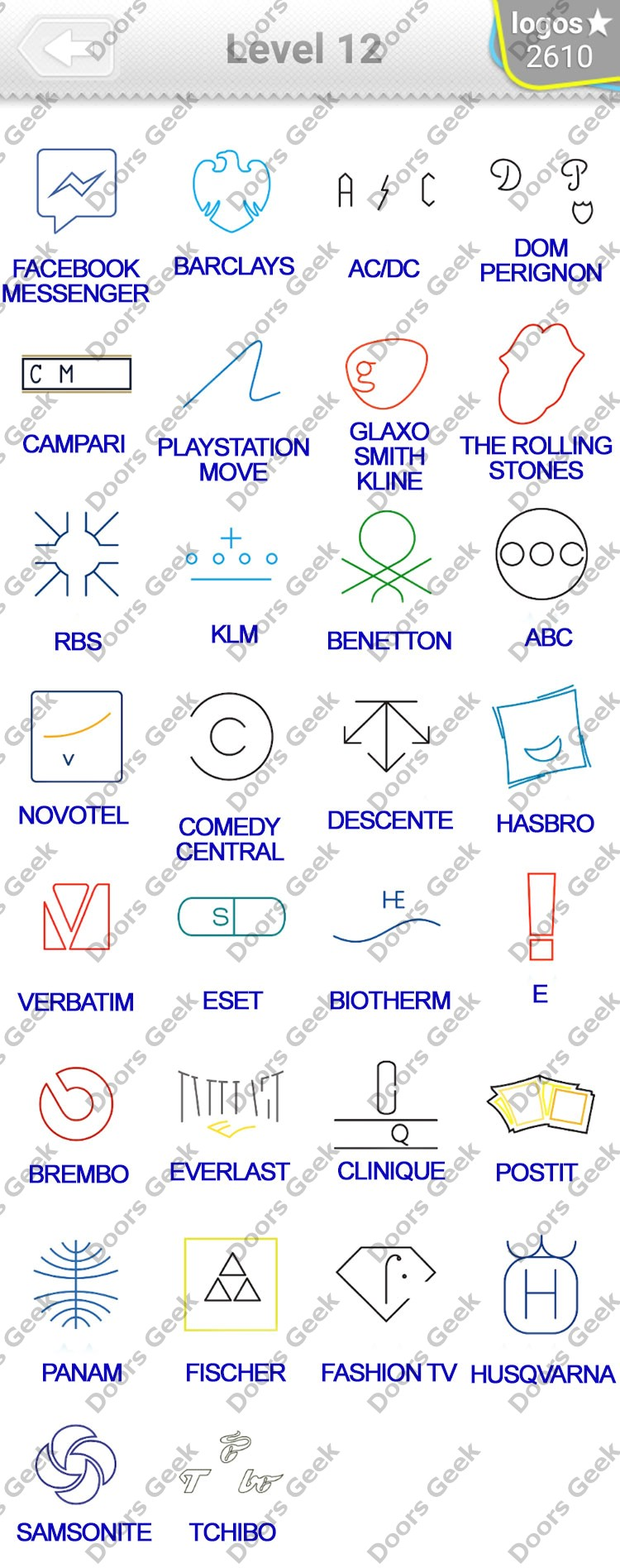 logo quiz minimalist niveau 9