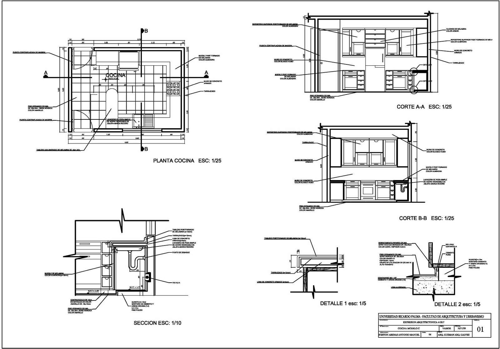 Maquetas planos croquis arq on pinterest for Planos de cocinas