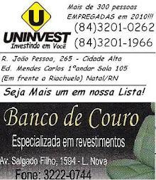 U BANCO DE COURO