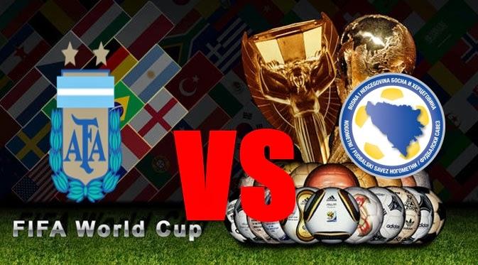 Prediksi Skor PIALA DUNIA Paling Jitu Argentina vs Bosnia Jadwal 16 Juni 2014