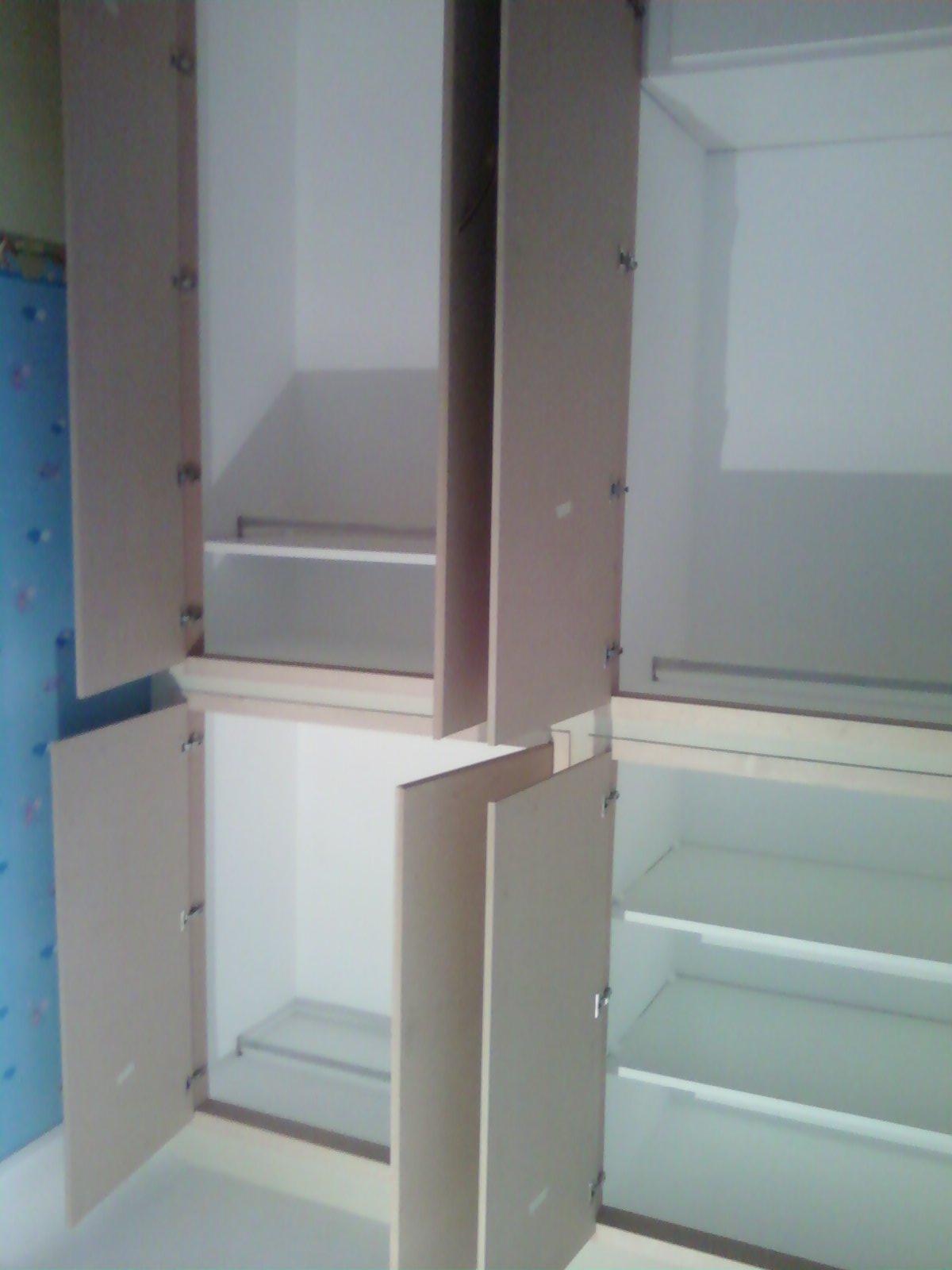 Fai da te hobby legno armadio in muratura - Laccare ante cucina ...