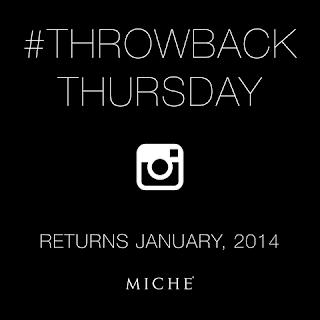 Miche Throwback Thursday returns January, 2014 at MyStylePurses.com