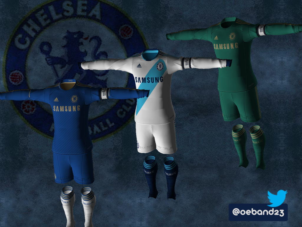 "Seragam ""kostum"" Chelsea (Full) 2012-2013"