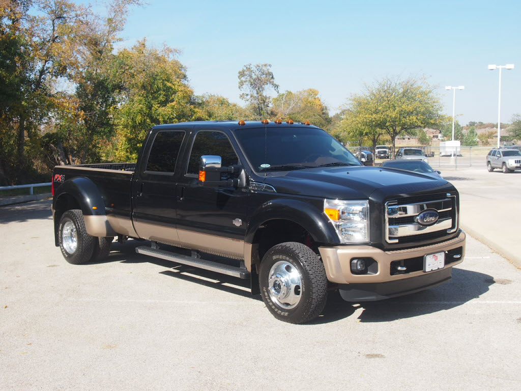 2012 ford f 450 super duty king ranch fx4 power stroke diesel truck has 4k miles tdy sales 817 243 9840 dfw dealer mike brown auto dealership granbury