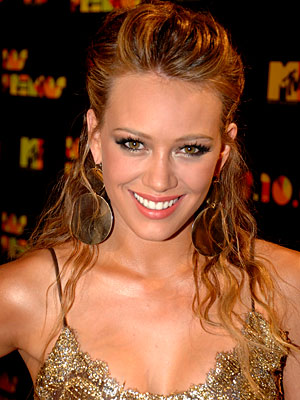 Hilary Duff Hair Back ... their plans for the day was a bikini car wash and BBQ.