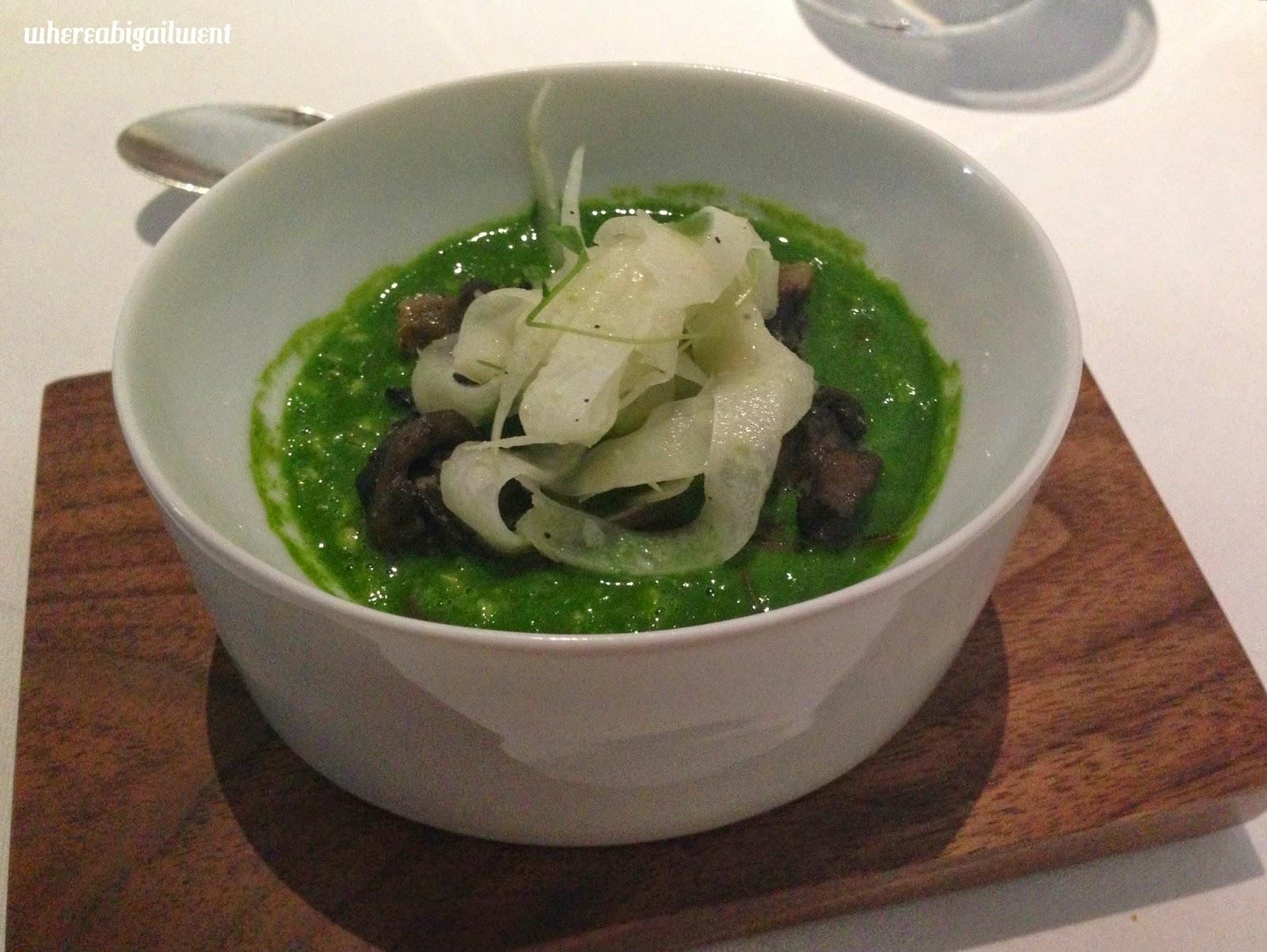 Heston Blumenthal Snail Porridge