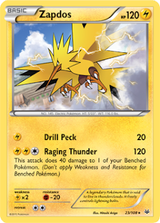 Zapdos Roaring Skies Pokemon Card