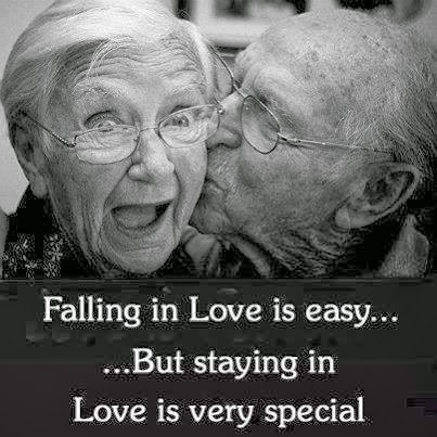 Falling in Love is Easy, but staying in Love is Very Special