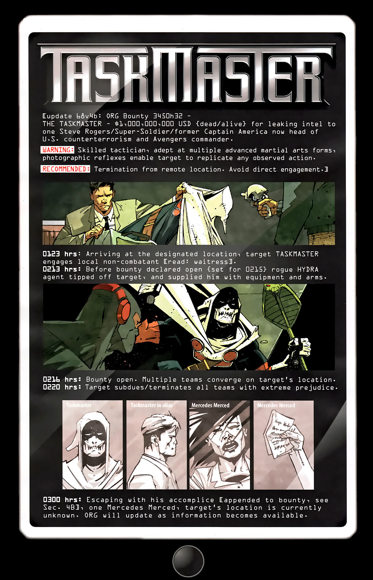 Read online Taskmaster (2010) comic -  Issue #2 - 5