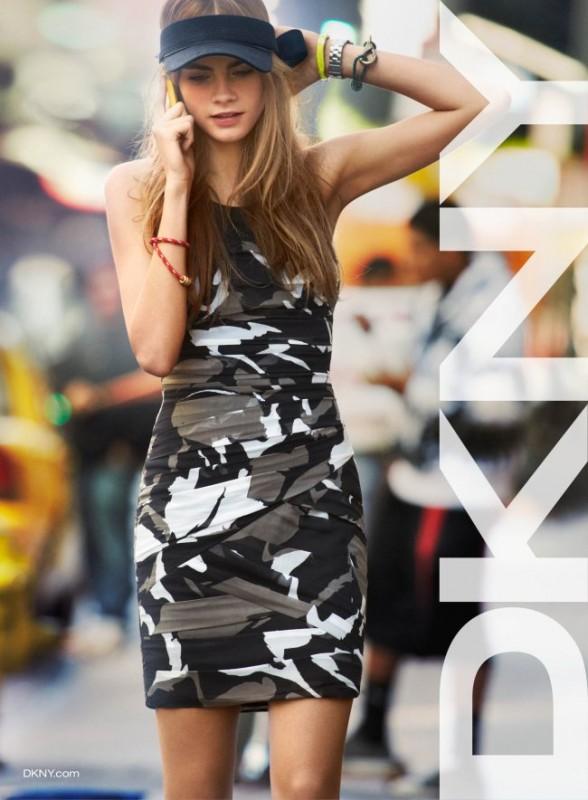 Smartologie: Cara Delevingne for DKNY Spring 2013 Campaign