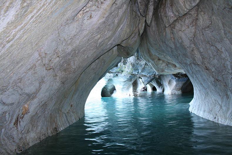 Las magn ficas cavernas de m rmol del lago general carrera for El significado de marmol
