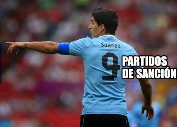 Los Mejores Memes de la Sancion a Suarez, Mundial Brasil 2014
