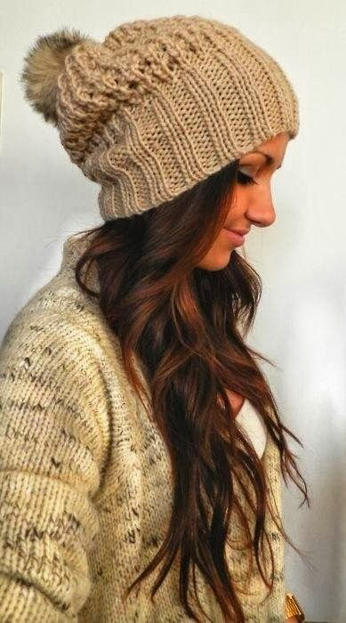 Stylish Outfit - Adorable Beanie and Cardigan