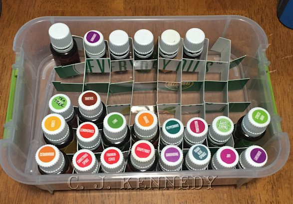 Essential Oil Storage Dividers