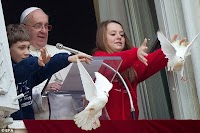 Doves of peace Pope killed by crows