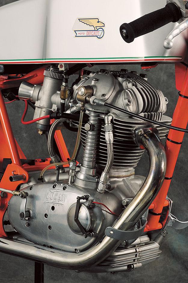 Vintage Ducati Single Parts Florida Cids
