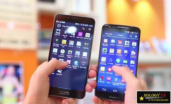 So sánh chi tiết Sky A900 xách tay và LG G2.
