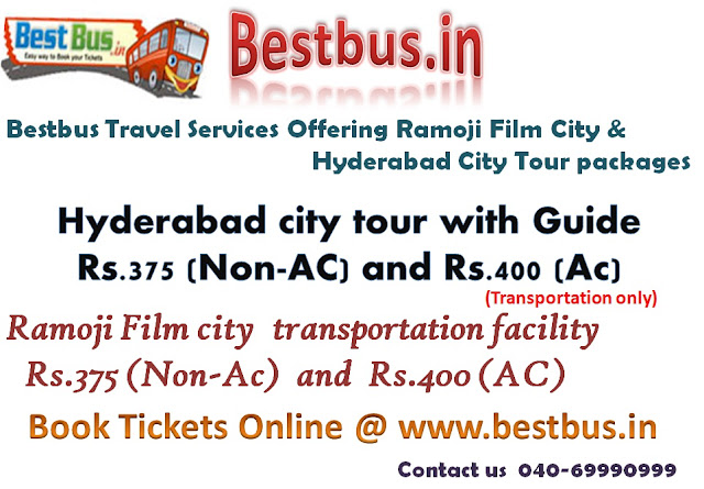 hyderabad city tour,hyderabad city tour packages,places to see in hyderabad,tour packages of hyderabad,ramoji film city packages