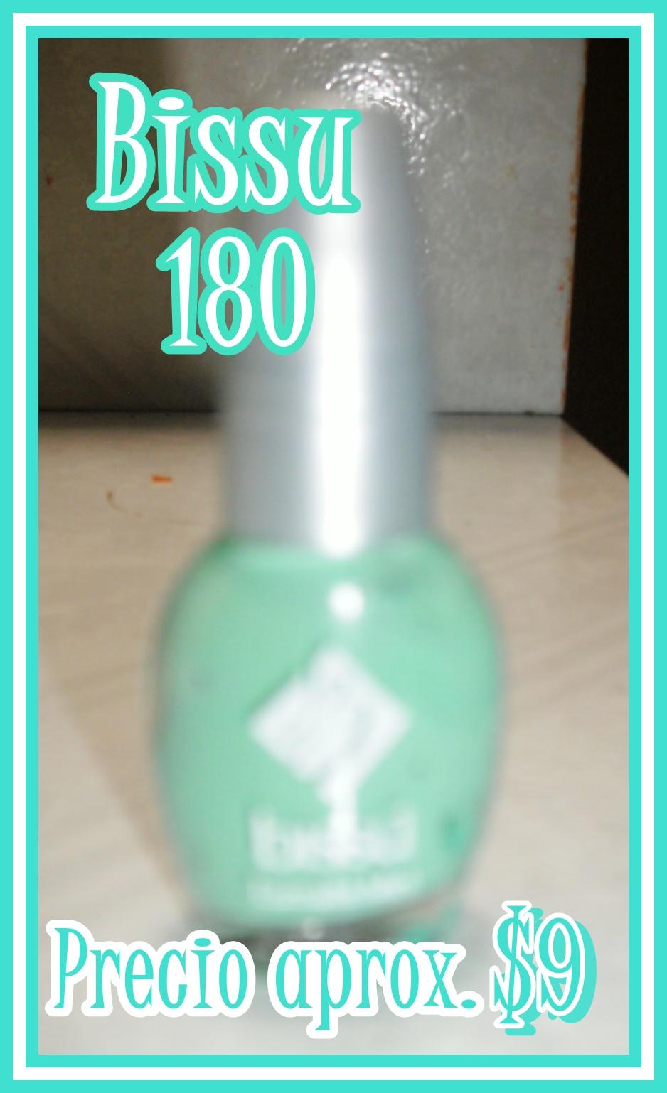 Uñas: aqua and sparkle