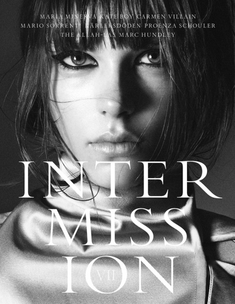 Caroline Brasch Nielsen Intermission Cover #7
