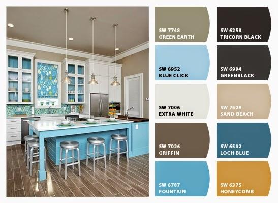Good Coastal Kitchen Color Palette