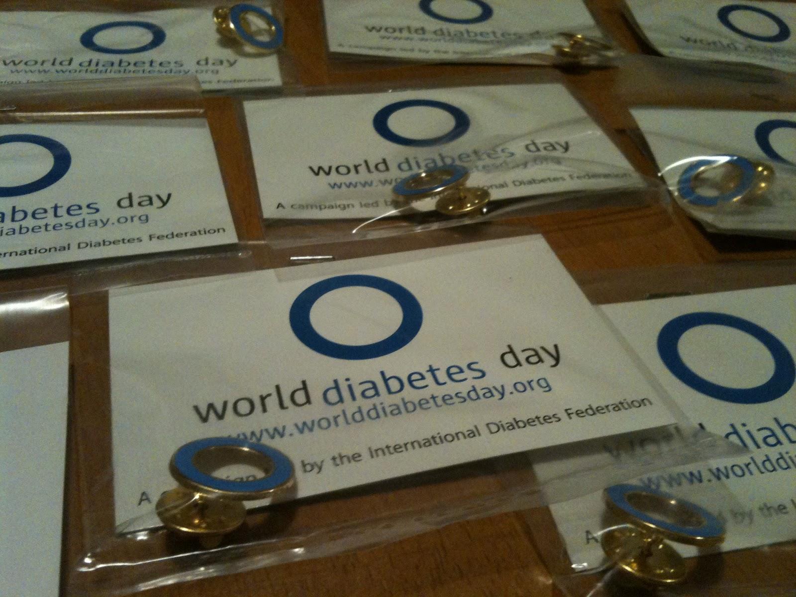 Taranaki Diabetic: Blue Circle Pins
