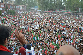 Imran Khan Haripur Jalsa 3 May 2013 Pics