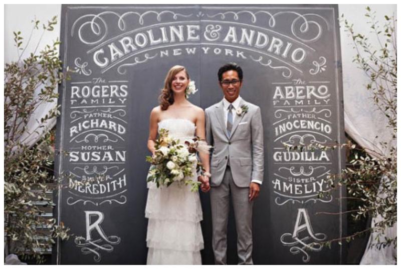 diy wedding blackboard chalkboard wedding inspiration beforethebigday