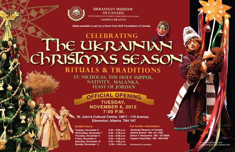 UKRAINIAN CALGARY: Celebrating the Ukrainian Christmas Season