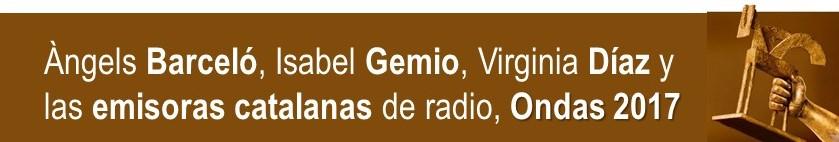 PALMARÉS DE RADIO, ONDAS 2017