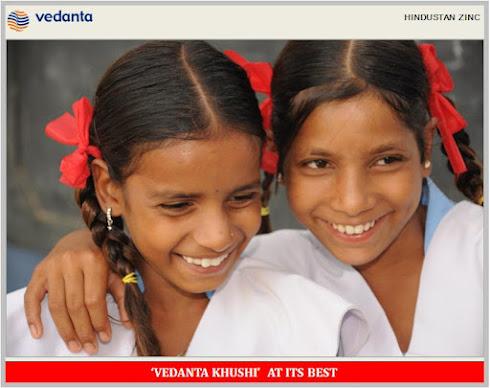 VEDANTA CSR - HINDUSTAN ZINC - GIRL EDUCATION