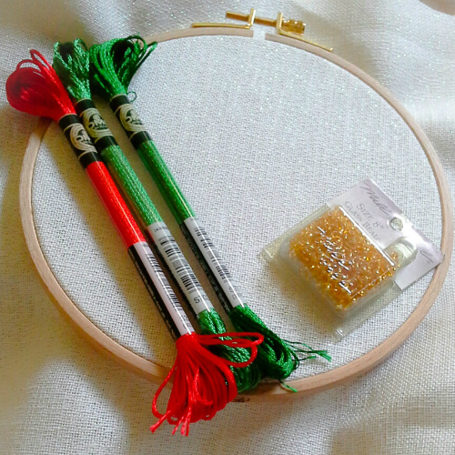 Stitching with DMC Satin Floss - tips and advice from homestitchness
