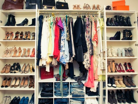 just smile with style: how to clean out and organize your closet