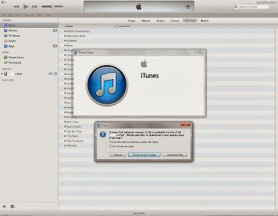 update to iOS 7 via iTunes