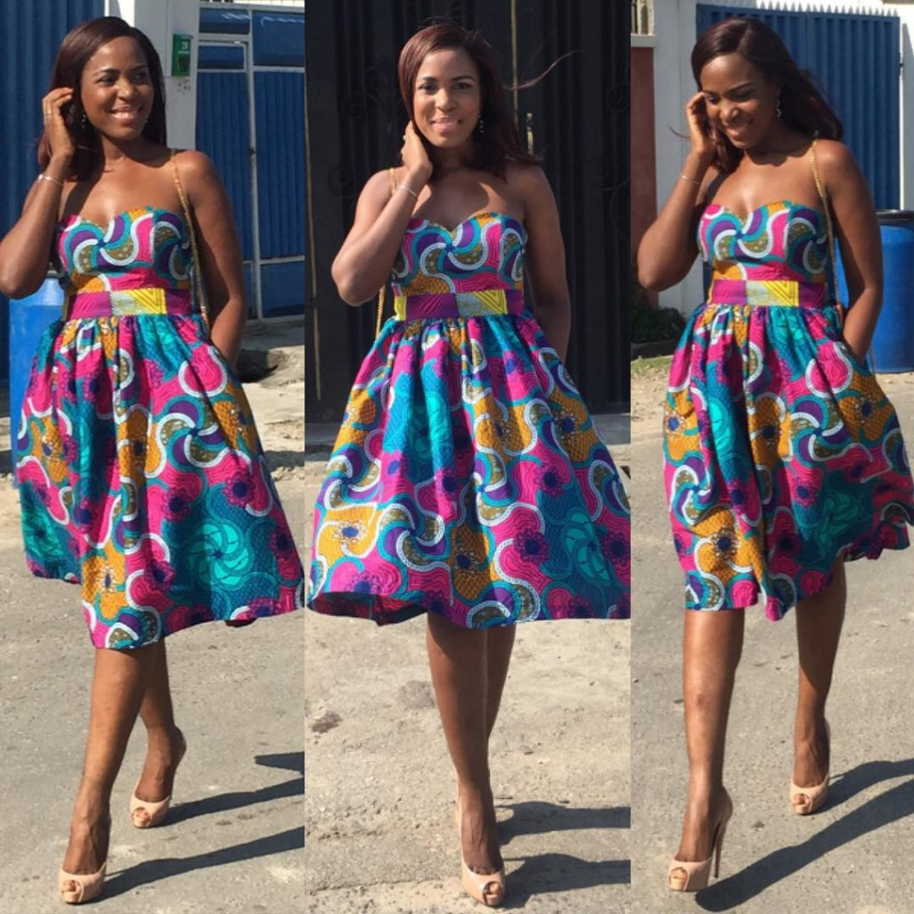 Beautiful Aso Ebi Ankara Style Gown Debonke House Of Fashion