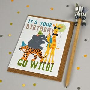 Ma Bicyclette - Buy Handmade - Birthday Cards - Go Wild