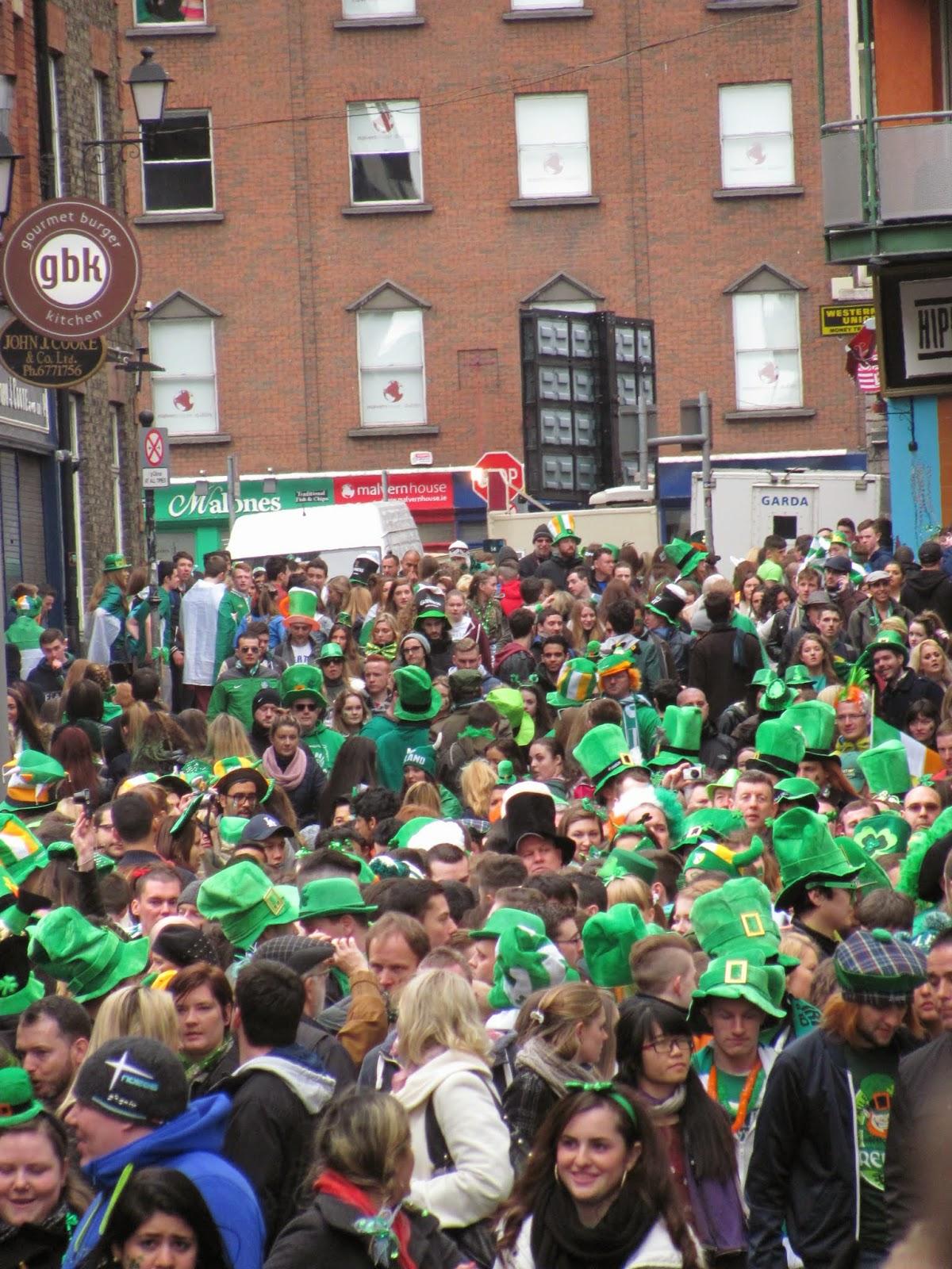 St. Patrick's Day 2014—Dublin, Ireland