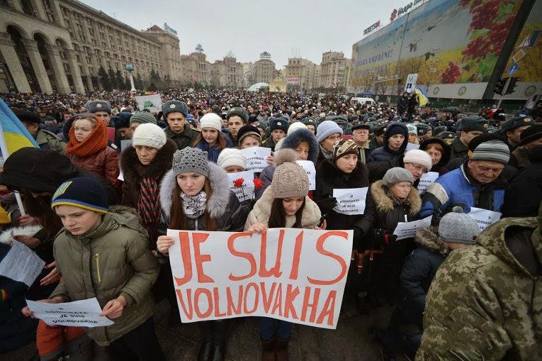 В Украине состоялись Марши мира в память о погибших на войне в Донбассе