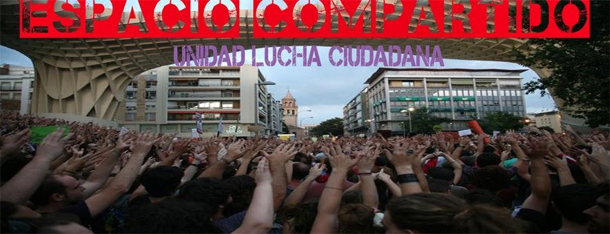 ESPACIO COMPARTIDO, Unidad de luchas ciudadanas.